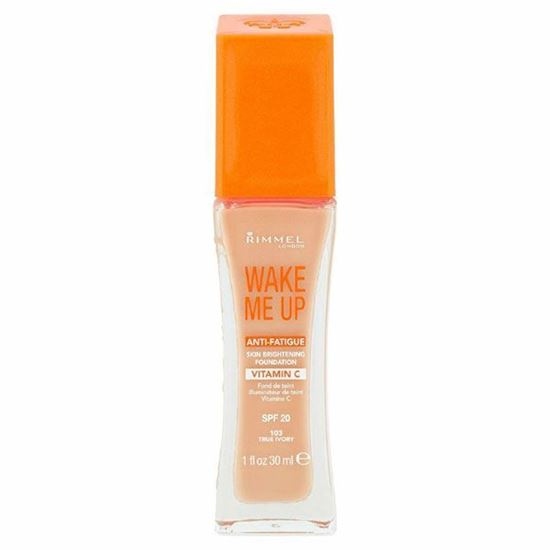Picture of Rimmel Wake Me Up Anti-Fatigue Foundation 30ml - True Ivory 103