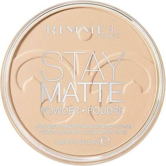 Picture of Rimmel Stay Matte Pressed Powder Compact - 012 Buff Beige
