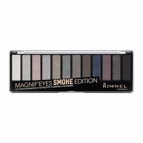 Picture of Rimmel London Magnif'eyes Smoke Edition 12 piece Eyeshadow - Palette 003