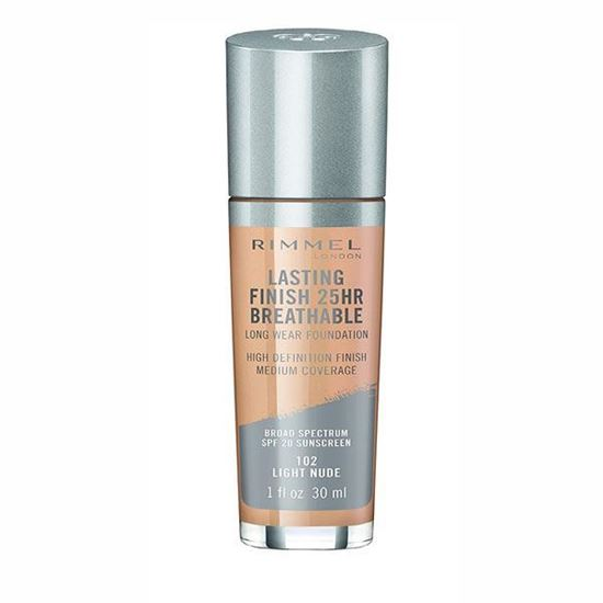 Picture of Rimmel Lasting Finish Breathable Foundation - Light Nude 102