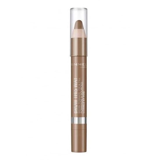 Picture of Rimmel Brow This Way Brow Pomade Pencil - Medium 002