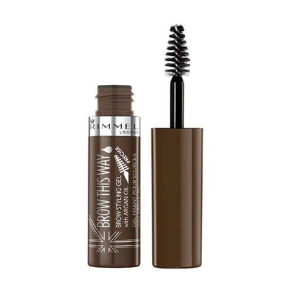 Picture of Rimmel Brow This Way Lightweight Gel - Medium Brown  002