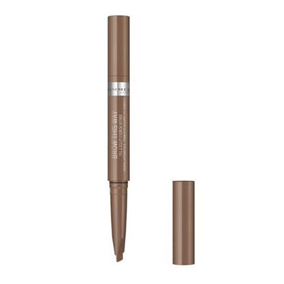 Picture of Rimmel Brow This Way Fill & Sculpt Eyebrow Definer - Blonde 001
