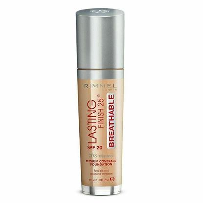 Picture of RIMMEL - Lasting Finish Breathable Foundation, True Beige - 1 fl. oz. (30 ml)