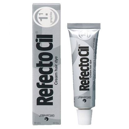 Picture of Refectocil Graphite 1.1 Tinting Eyelash and Eyebrow Tint Dye 15ml