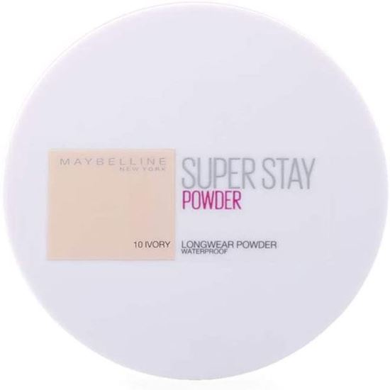 Picture of Maybelline New York 24H Superstay Face Powder - Ivory 10, 9gm