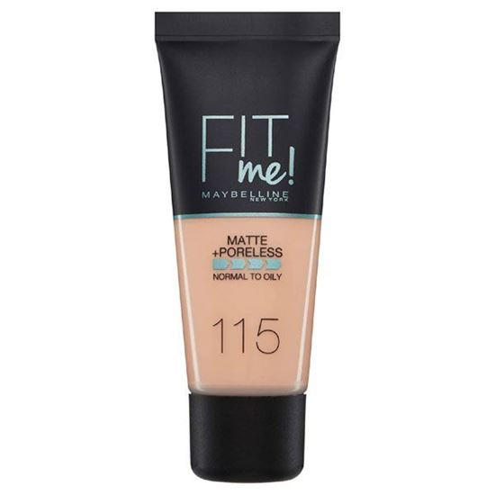 Picture of Maybelline New York Fit Me Matte & Poreless Foundation - 115 Ivory 30ml