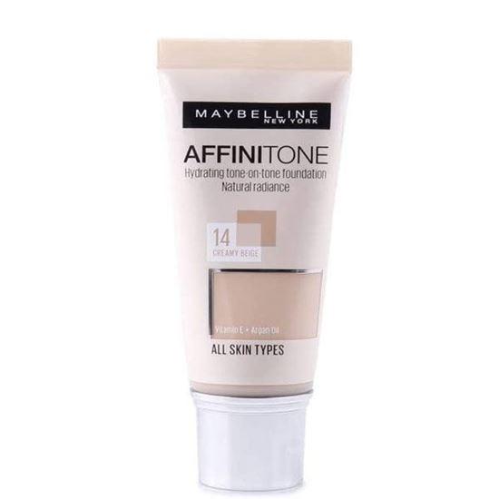 Picture of Maybelline Affinitone Perfecting & Protecting Foundation - 14 Creamy Beige, 30ml