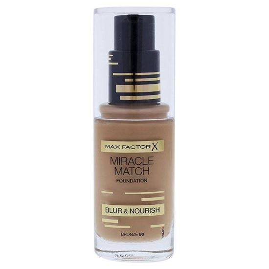 Picture of Max Factor Miracle Match Foundation - Bronze 80