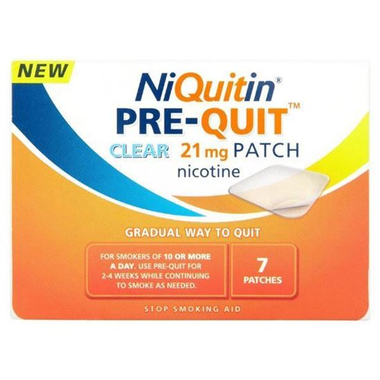 Picture of NiQuitin Pre-Quit 21mg 7 Patches