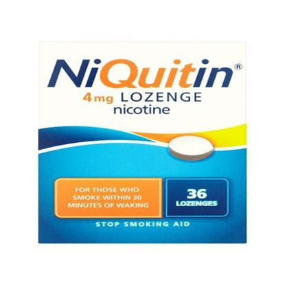 Picture of Niquitin 4mg Mint Lozenge - 36 Lozenges