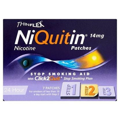 Picture of Niquitin CQ Patches 14mg Original - Step 2 - 7 Patches