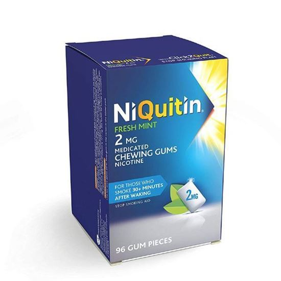 Picture of NiQuitin Fresh Mint Gum, 2mg - 96 Pieces