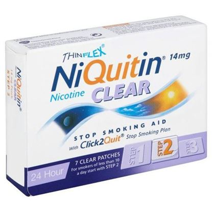 Picture of Niquitin 14mg Clear 24 Hour 7 Patches Step 2
