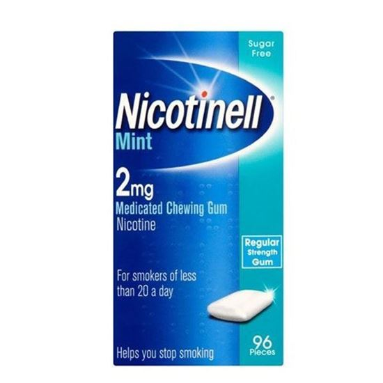 Picture of Nicotinell Mint 2mg Chewing Gum 96 Pieces