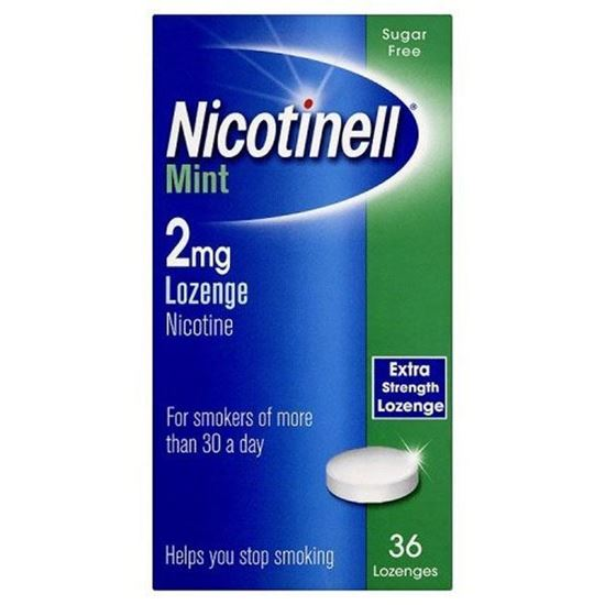 Picture of Nicotinell Lozenges Mint 2mg 36 Lozenges