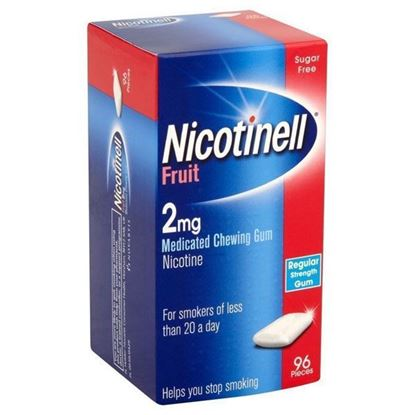 Picture of Nicotinell Fruit Gum 2mg 96 Pieces