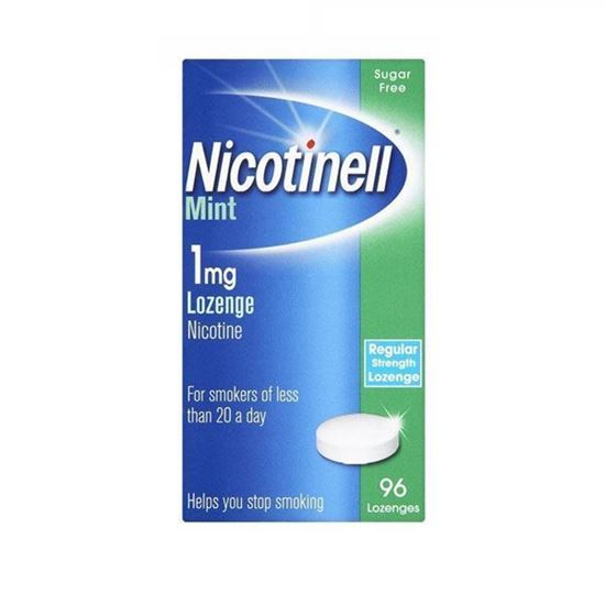 Picture of Nicotinell Lozenges Mint 1mg 96 Pieces
