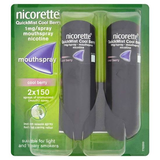 Picture of NICORETTE QUICKMIST DUO BERRY 1MG DUO