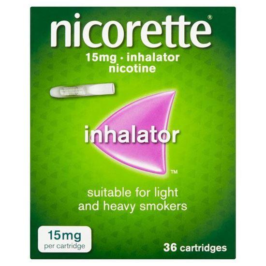 Picture of Nicorette 15mg Inhalator 36 Cartridges