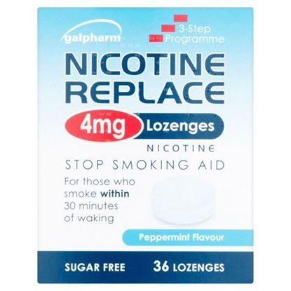 Picture of Nicotine Replace 4mg Lozenges