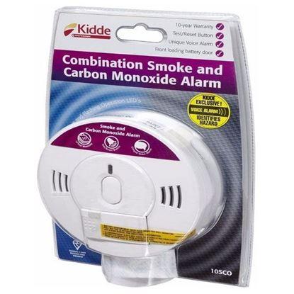 Picture of Carbon Monoxide and Smoke Combination Alarm - Kidde 10SCO