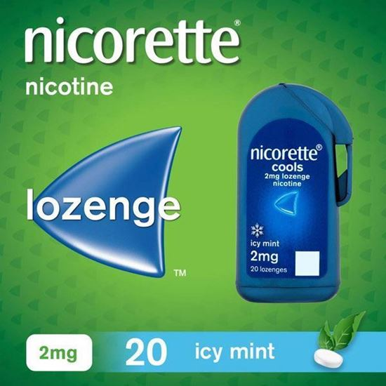 Picture of Nicorette Cools 2mg 1 x 20 Lozenge