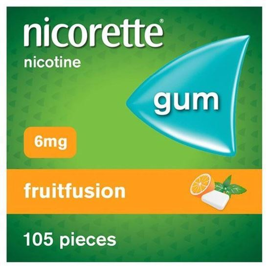 Picture of Nicorette Gum Fruit 6Mg 105 pieces
