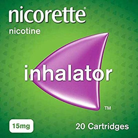 Picture of NICORETTE INHALATOR 15MG 20S