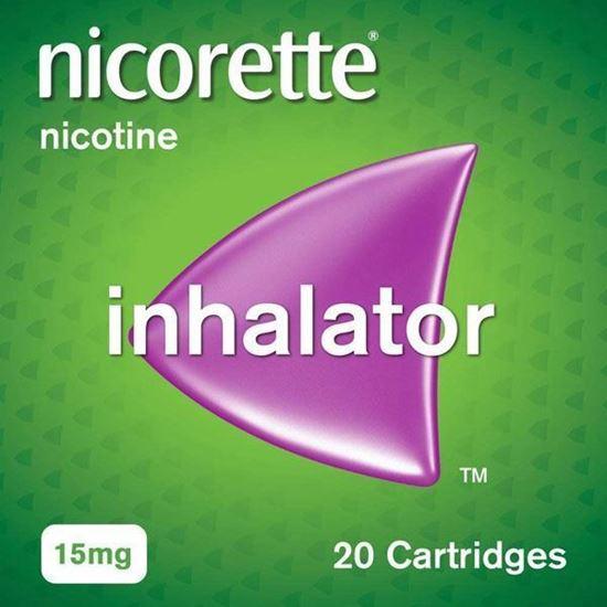 Picture of Nicorette Inhalator 15mg Black 20's