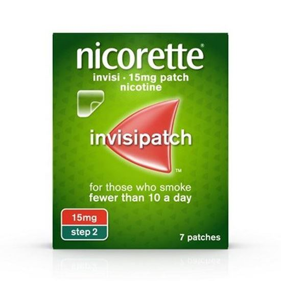 Picture of Nicorette Invisi Patch 15mg- 7 patches - Step 2