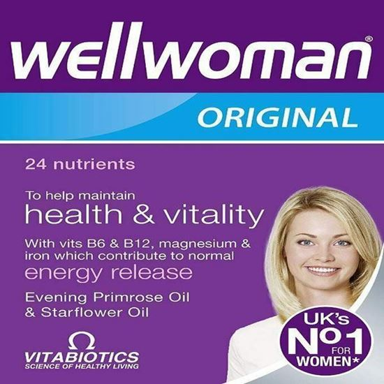 Picture of Vitabiotics Wellwoman Original 90 Capsules