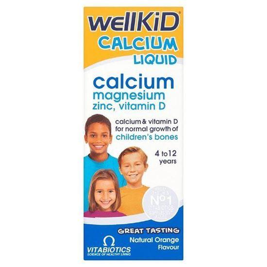 Picture of Vitabiotics Wellkid Calcium Liquid - 150ml