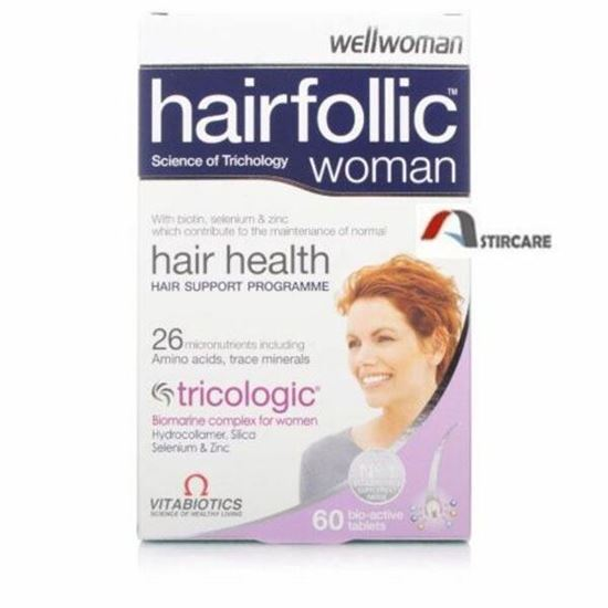 Picture of Vitabiotics Wellwoman Tricologic Tablets - 60 Tablets