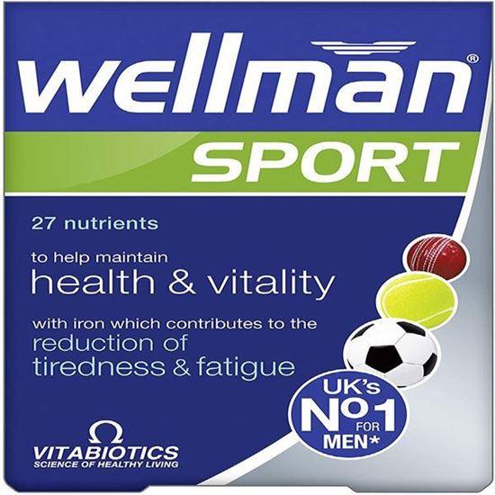 Picture of Vitabiotics Wellman Sport Tablets, 30 Tablets Wellman