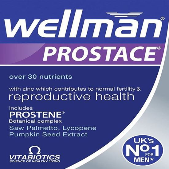 Picture of Vitabiotics Wellman Prostace - 60 Tablets