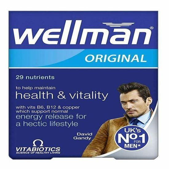 Picture of Vitabiotics Wellman Advanced Vitamin & Mineral Supplement - 30 Tablets