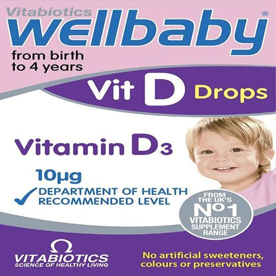 Picture of Vitabiotics Wellbaby Vit D Drops - 30 ml