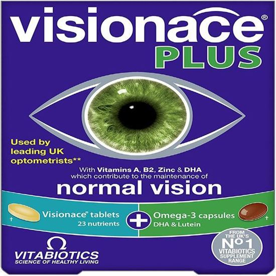 Picture of Vitabiotics Visionace Plus Dual Pack 2 X 28 Tablets