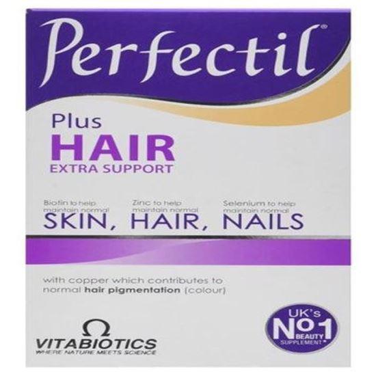 Picture of Vitabiotics Perfectil Plus Hair - 60 Tablets