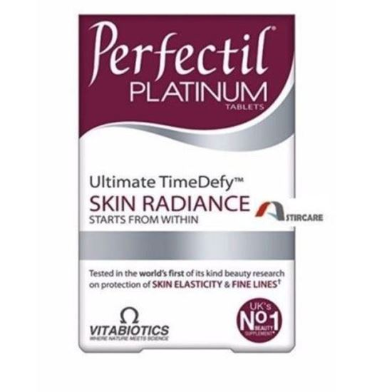 Picture of Vitabiotics Perfectil Platinum Skin Radiance - 60 Tablets