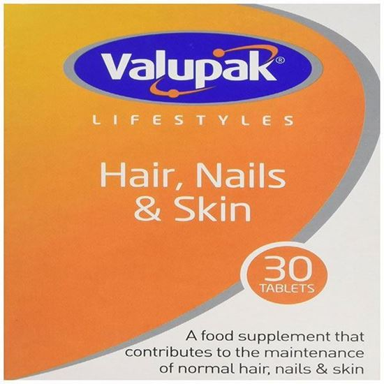 Picture of Valupak Hair, Nails & Skin - 30 Tablets