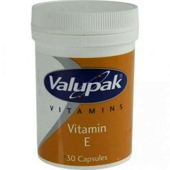 Picture of Valupak Vitamin E 30 Capsules