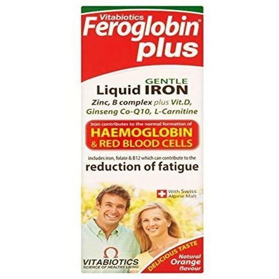 Picture of Vitabiotic Feroglobin Plus Liquid 200ml