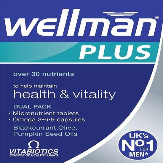 Picture of Vitabiotic Wellman Plus 56 Tablets/Capsules