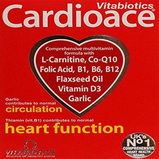 Picture of Vitabiotics Cardioace Original - 30 Tablets