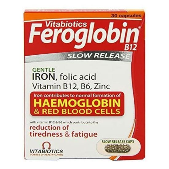 Picture of Vitabiotics Feroglobin Vitamin and Mineral -30 Capsules