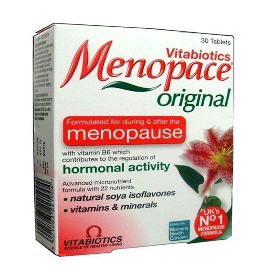 Picture of Vitabiotics Menopace Effective One-a-day Tablets 30 Tablets
