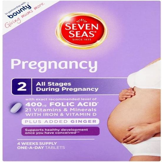 Picture of Seven Seas Pregnancy 21 Vitamin and Minerals - Pack of 28 Tablets