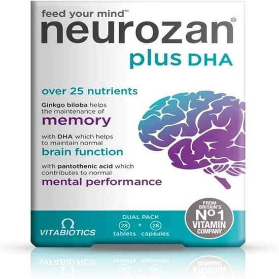 Picture of Vitabiotics Neurozan Plus - 56 Tablets/Capsules